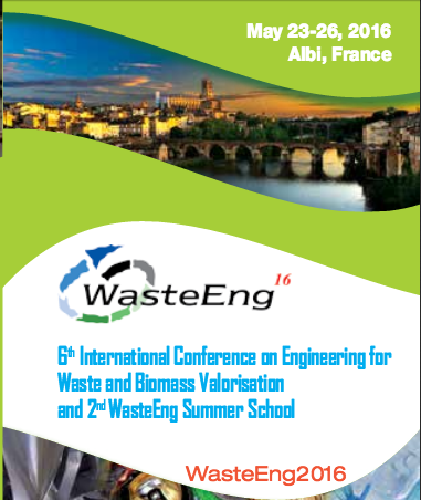 Conférence WasteEng 2016